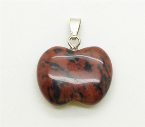 Colgante Apple Shape Red Jasper