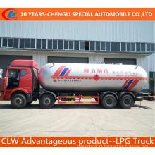Caminhão do LPG de Faw 8X4 com volume de 45cbm