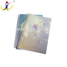 Decoration Cover Of Printed ECO Recycled Paper Notebook A5 Size Exercise Book Custom Print Paper