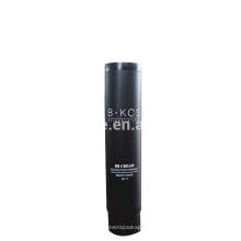 Tubo de papel de embalagem cosmética preto