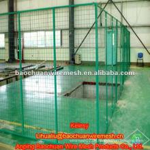PVC beschichtete geschweißte Werkstatt Isolationszaun
