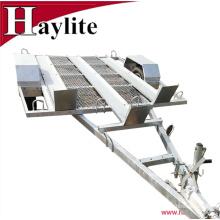 Galvanized steel OEM light duty ATV motorbike quad bike carrier trailer for sale