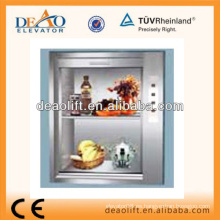 New Suzhou DEAO Dumbwaiter Lift para restanrant, cafetería