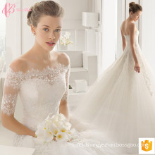 2017 Gorgeous Lace Bling Wedding Dresses Bridal Gown Appliqued For Sale
