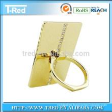360 Degree Rotation Universal gold ring mobile phone holder for samsung phones
