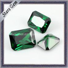 Zircon cubique synthétique émeraude populaire