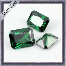 Popular Emerald Color Synthetic Cubic Zirconia