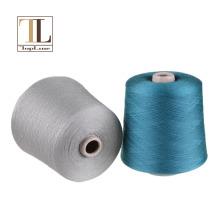 вязание экстра тонкой мериносовой шерсти пряжи смесь вискозной пряжи