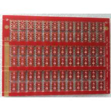 ENIG  PCB with  2 layer FR4 3.2mm  Red Solder