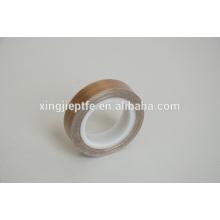 El surtidor chino vende al por mayor la cinta adhesiva marrón del ptfe