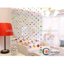 Hot sale room divider rideau en cristal perlé rideau coloré
