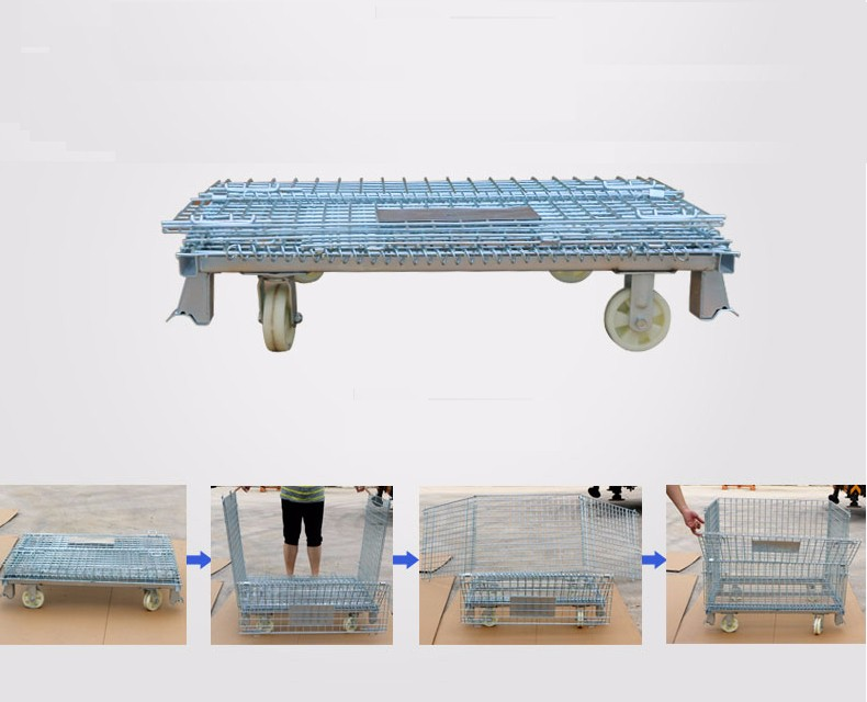 Collapsible Pallet Cage