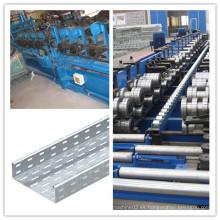 Rectángulo de la bandeja de cable de la fuente directamente de la fábrica que forma la máquina