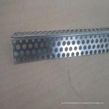 Cuenta de esquina de aluminio con ángulos perforados