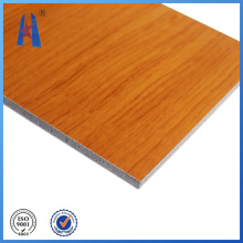 Aluminum Sheet Wall Cladding Wooden Panel