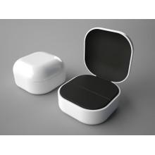 Caixa de jóias anel com logotipo Hotstamping