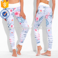 Muticolored Botanical Print Leggings OEM/ODM Manufacture Wholesale Fashion Women Apparel (TA7031L)