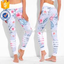Impressão Legicolored Muticolored Leggings OEM / ODM Fabricação Atacado Moda Feminina Vestuário (TA7031L)