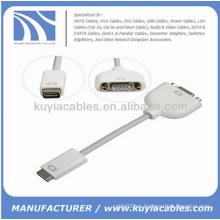 Mini DVI a VGA adaptador de cable para Apple Mac