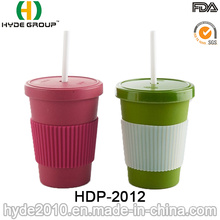 Taza de fibra de bambú promocional ecológica (HDP-2012)