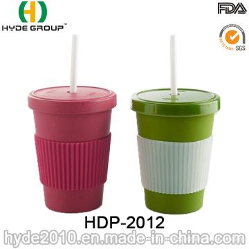 Copo de fibra de bambu promocional Eco-Friendly (HDP-2012)