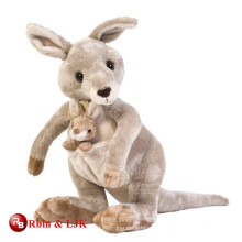 custom promotional lovely baby kangaroo plush toy