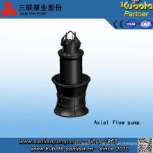 Pompe de débit axial submersible de grande taille