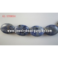 Natural Gemstone Sodalite beads