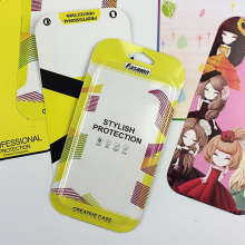 Fesyen Yellow Phone Case Box dengan Hook