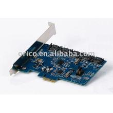 5Bay PCI-E de disco duro interno Raid Express Card