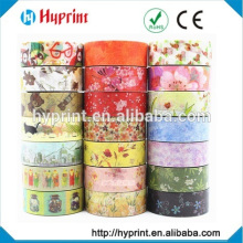 customized washi printed japanese tape
