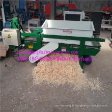 Machine à raser en bois pour faire des copeaux de literie Aniaml