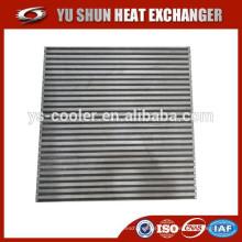 Núcleo del refrigerador de la aleta de la placa del OEM del OEM vendedor caliente