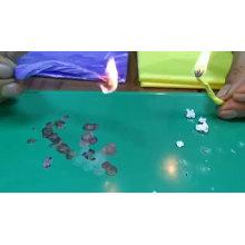 Sacos de lixo de plástico biodegradáveis ecologicamente corretos