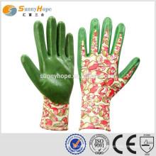 SUNNYHOPE 13gauge резиновые садовые перчатки