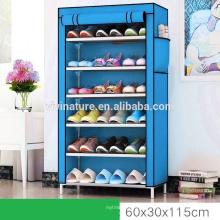 Sapata de prateleira de armário de armazenamento de sapato de várias cores