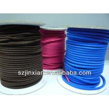 bester Preis für runde elastische Schnur, mehrfarbige elastische Schnur, gewickelte elastische Schnur