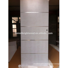 White Veneered Flush Door Design