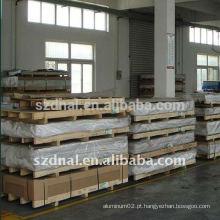 Folha de alumínio 6061 T6