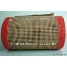 Тефлоновая / PTFE лента конвейерная из стекловолокна с открытой сеткой