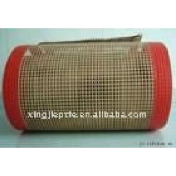 Cinta transportadora de malla abierta de fibra de vidrio recubierta de teflón / PTFE