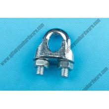 Attaches fer malléable rigging Hardware U. S. câble Clip