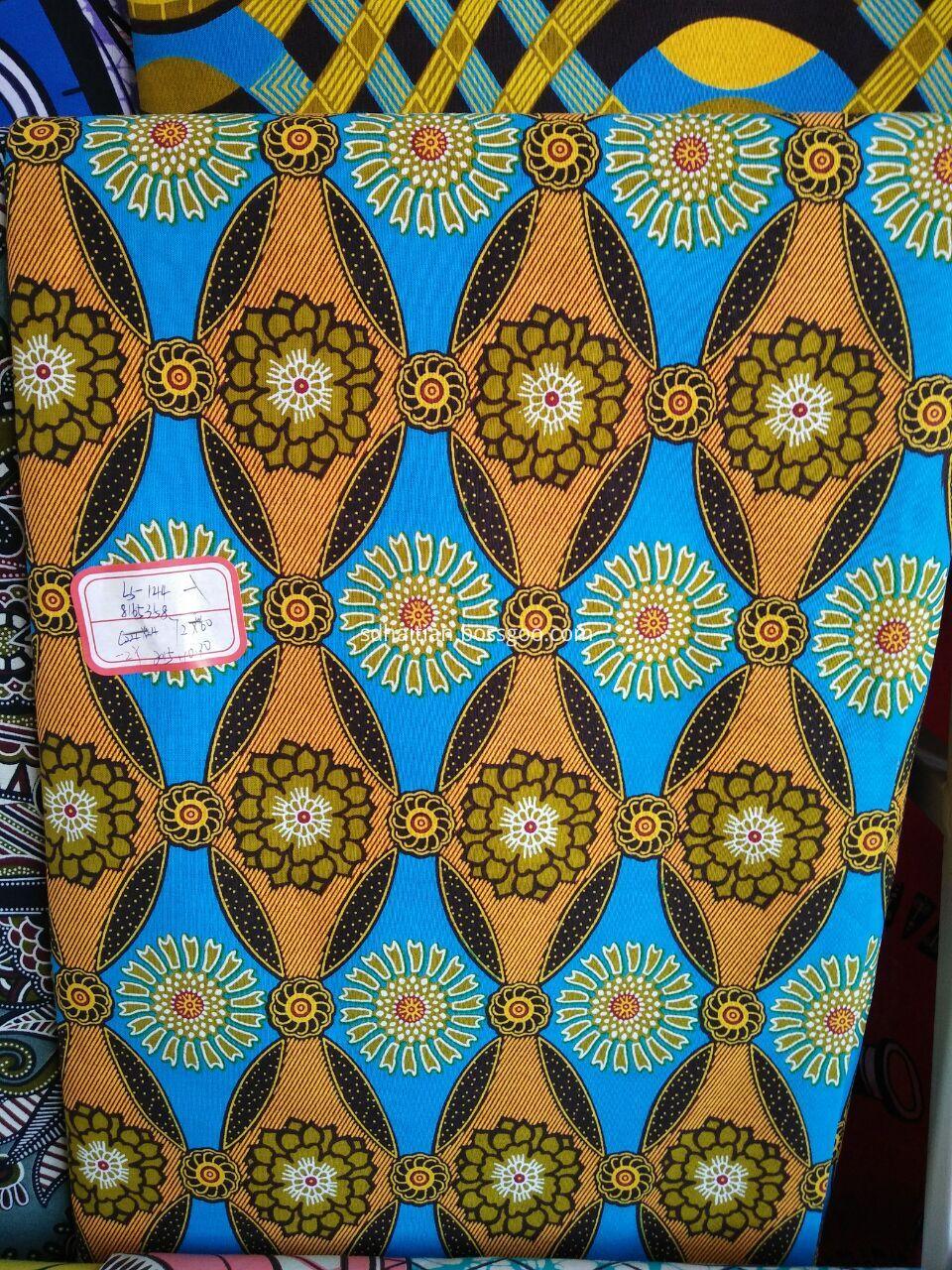 Java wax fabrics