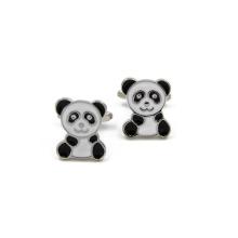 VAGULA qualidade Panda Mancuerna botões de punho (HLK35142)