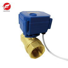 CWX-15q motorized ball flow exhaust control valve