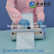 Heat Sealing Steralisation Pouch Flat Reel 50mm x 200m EN868