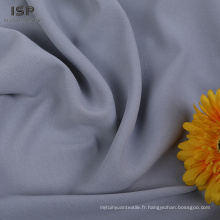 Tissu uni uni moins cher 100% polyester