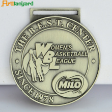 Medalha Esportiva Custom Hot Sale com fita
