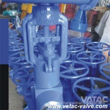 High Temperature 550 Degree Pn160 Butt Welded Globe Valve