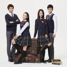 Große Fabrik preiswerteste Qualitäts-Mädchen-Schule-Uniform